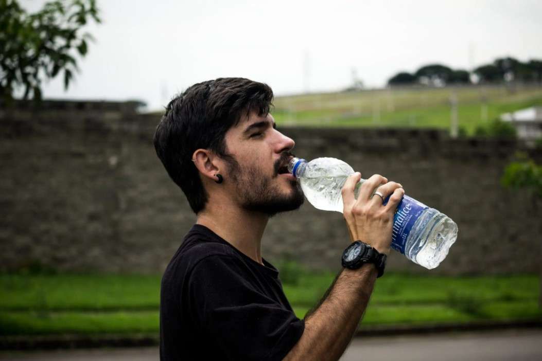 Leave today, this filthy habit of standing and drinking water